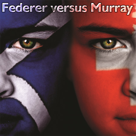 federer versus murray